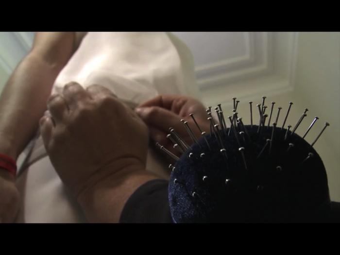 Vídeo de como se hace un vestido a medida