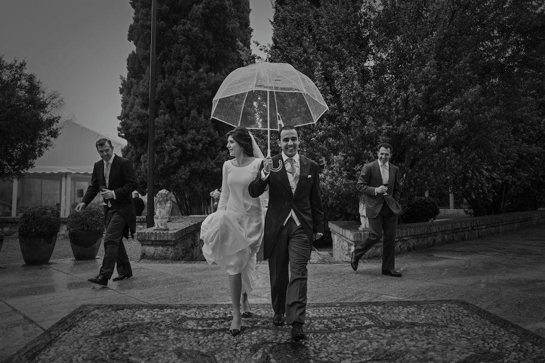 Frio y lluvia, esa combinación que ninguna novia quiere…