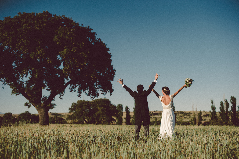 La Boda de María; Una boda en el campo