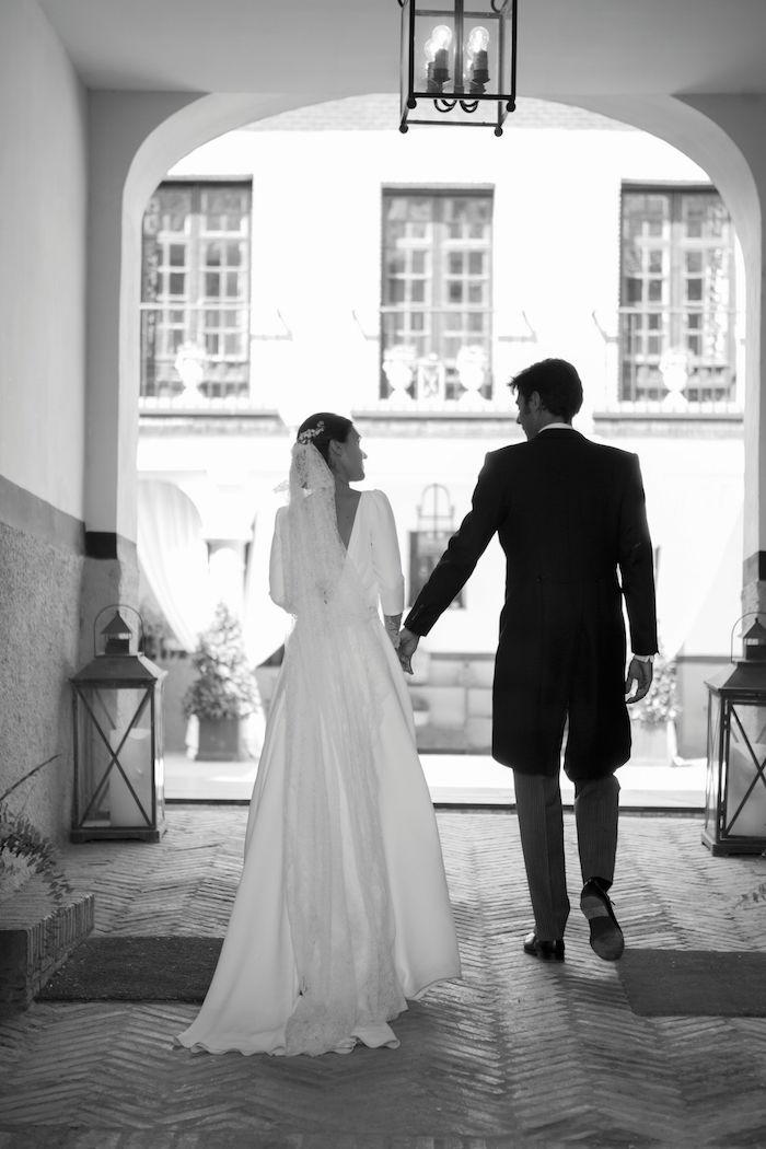 La boda de Sara en el palacio de Aldovea