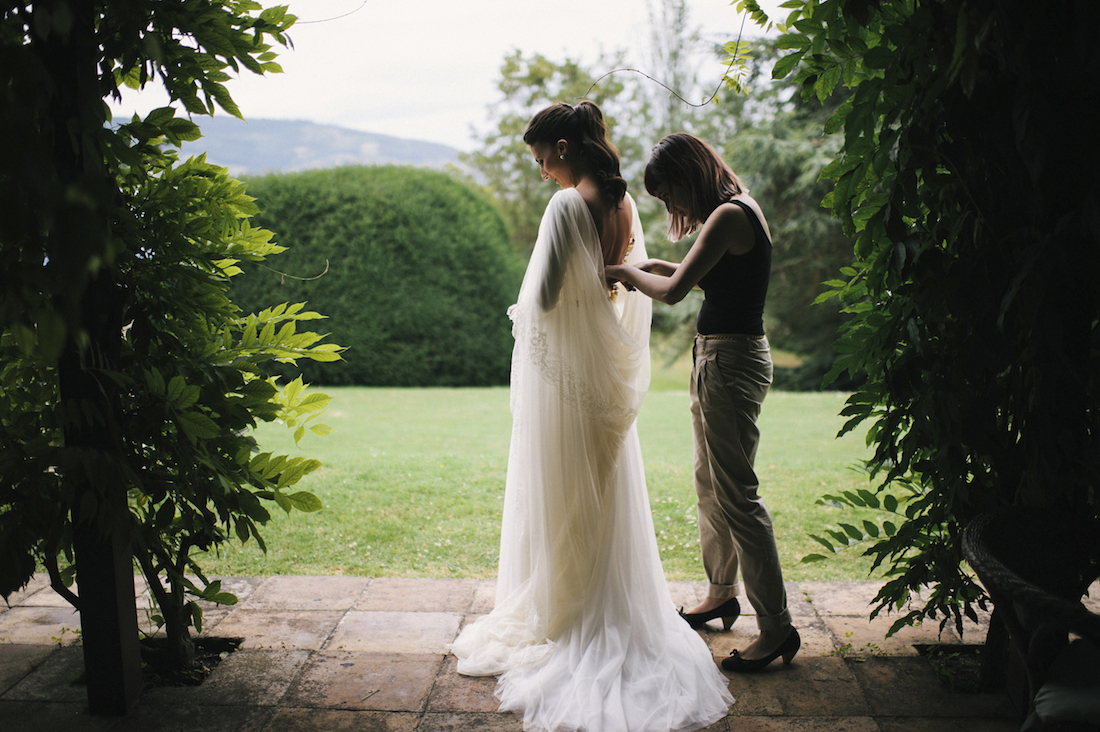 la boda de Ana en Somió