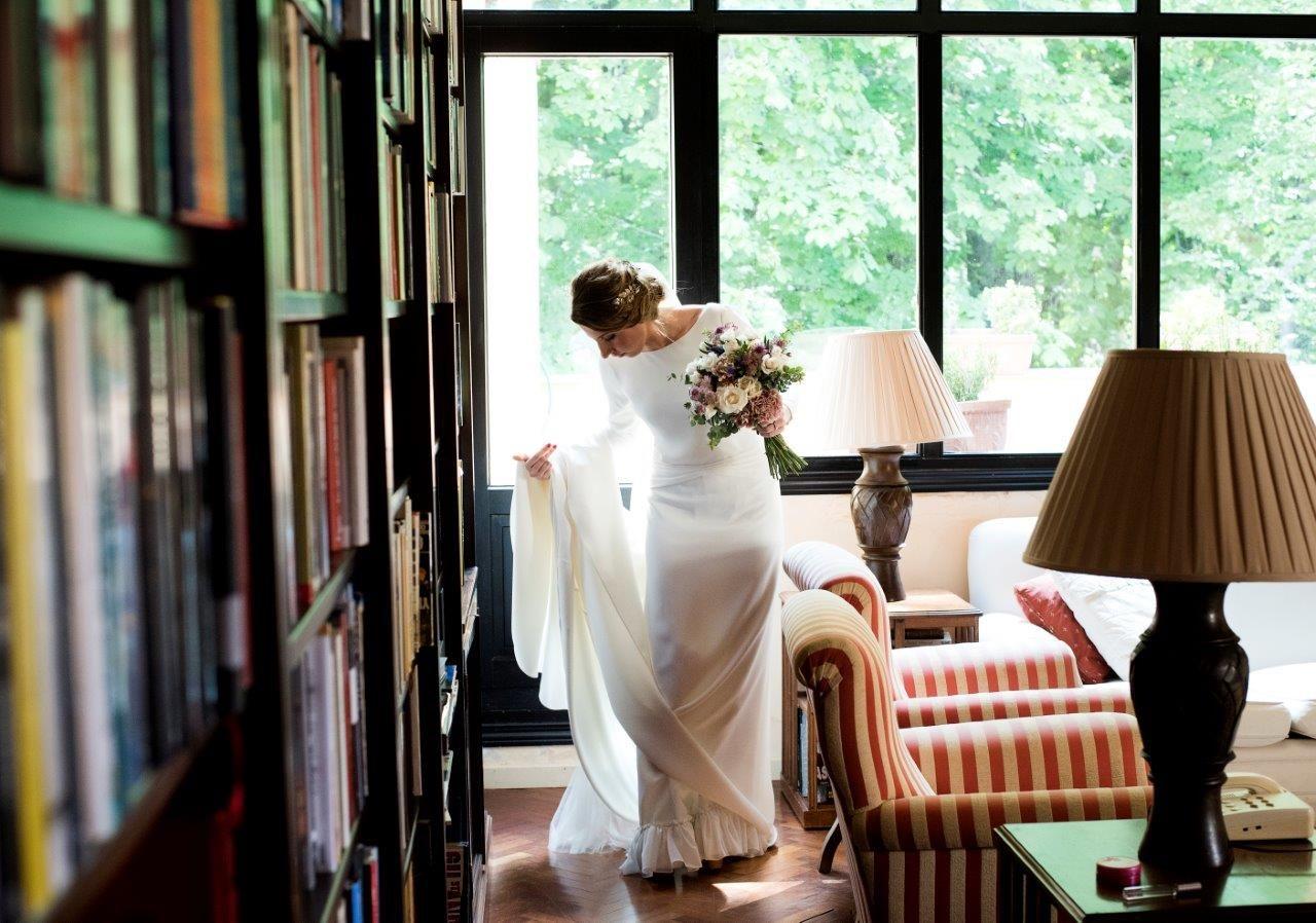 La boda de Mónica en El Esquileo