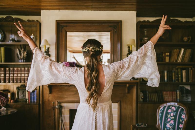 La boda de Celia en Cedeira